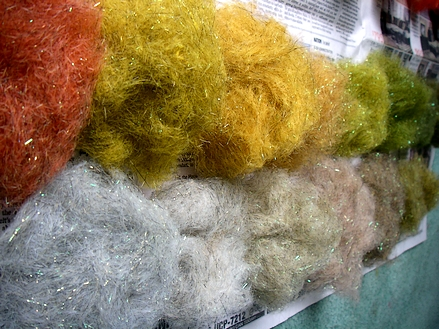 Mohair-Squirrel-Woodchuck with Soft Crimp Angelina added