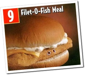 Hoki the other white meat singlebarbed for Give me that filet o fish
