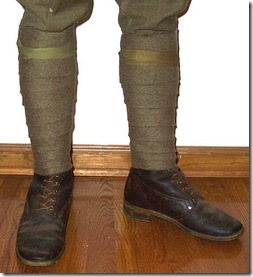 Brachycentrus boots with taped legging