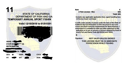 Singlebarbed fly fishing the unloved unclean page 41 for Where to buy california fishing license