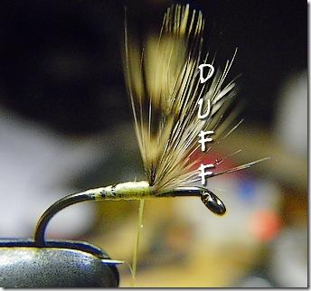 The dreaded hackle wing fiber duff
